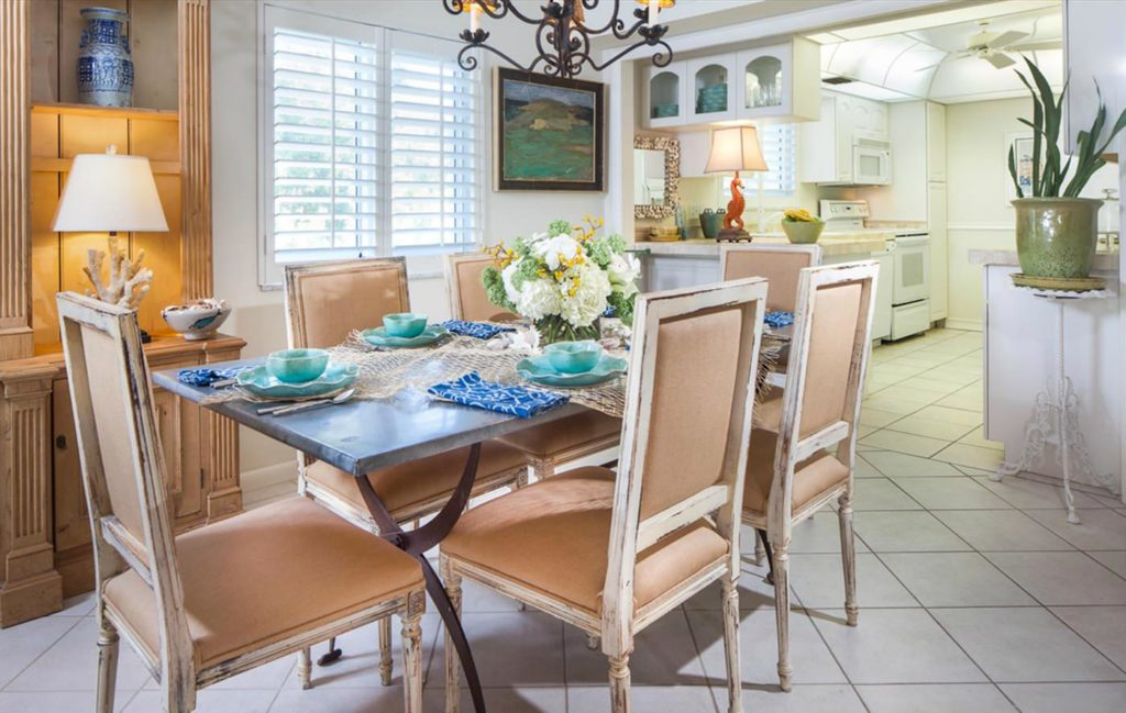 Private Beach Villa Naples Florida Porte Italia Dining 4
