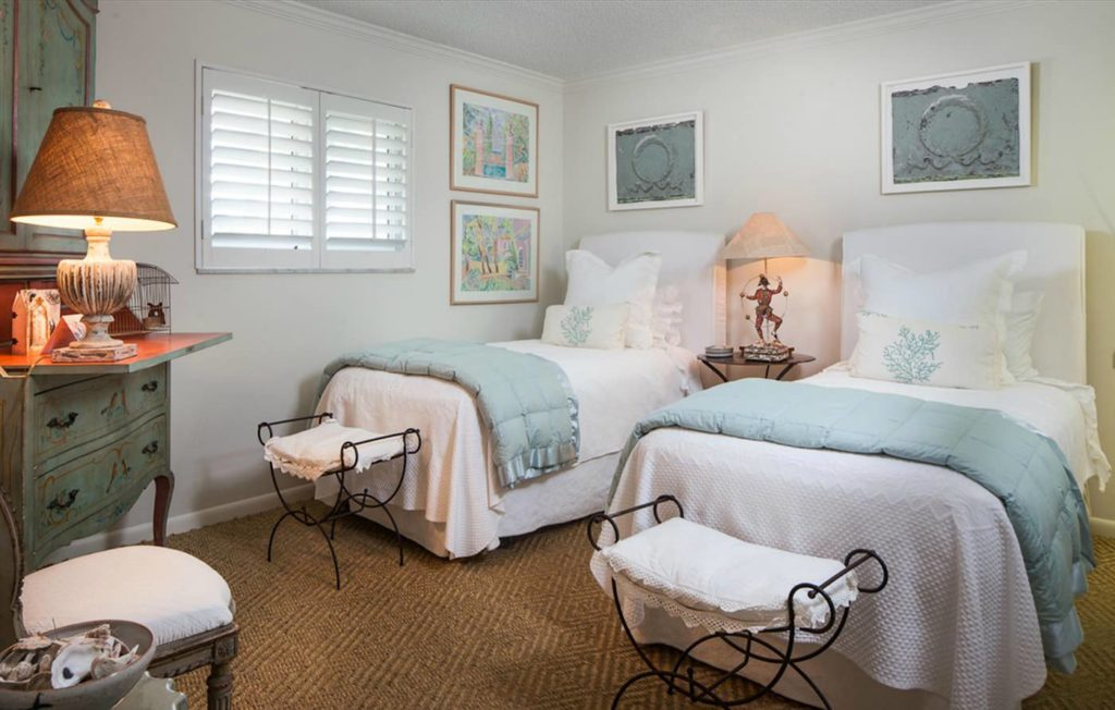 Private Beach Villa Naples Florida Porte Italia Guest Room 1