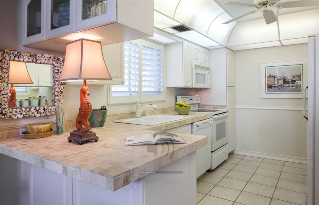 Private Beach Villa Naples Florida Porte Italia Kitchen 1