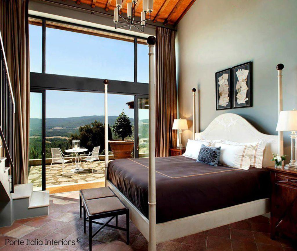 Tuscany Bedroom Porte Italia Interiors
