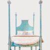 B97 Tintoretto Bed B97 • Qn • Xx • Pb • 48 Con Custom Bench (2)