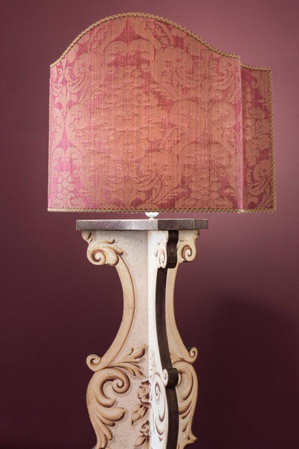 Blue Iris Lamp Stand White Porte Italia Venezia