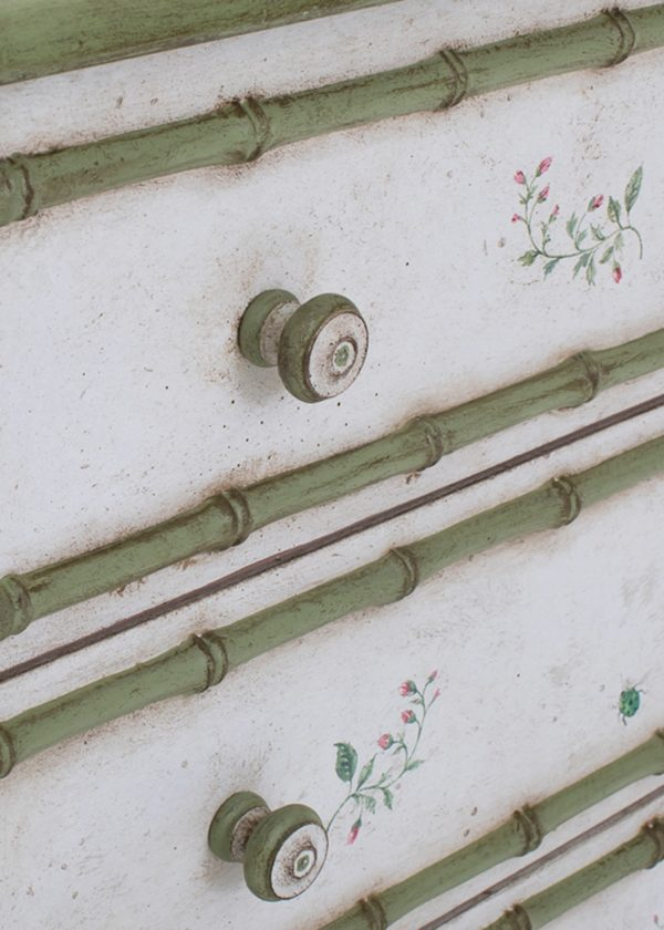 Fiesole Chest Standard Drawers Bamboo Details Porte Italia Venezia