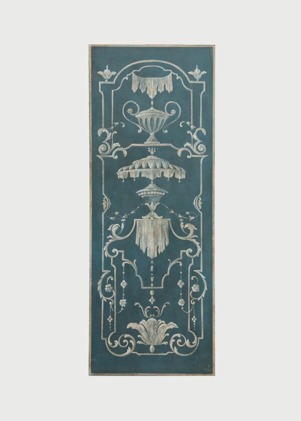Grotesque Inspired Panel Hand Painted Furniture Porte Italia