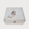 Hand Painted Box Butterfly Decor Porte Italia Venezia 2
