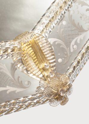 Murano Mirror Art 714 Details 2