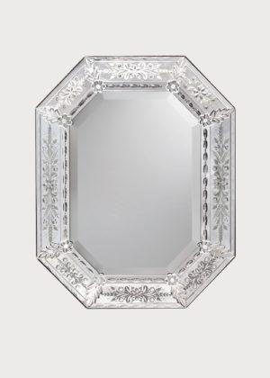 Murano Mirror Art. 718 W X H 65cm X 81cm 25.5in X 32in