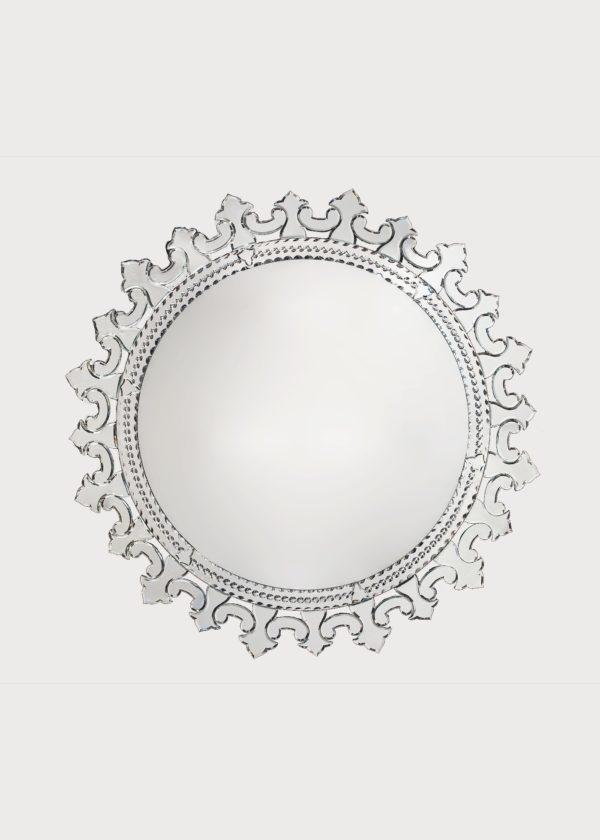 Murano Mirror Art. 720 Dia 93cm 36.5in Inside Mirror 63.5 25in