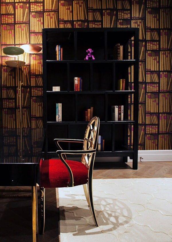 Our Aquileia Armchair Red Upholstery London Porte Italia Venezia (2)