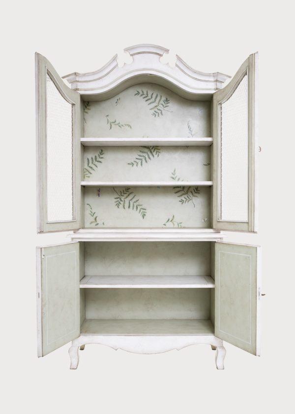 Padua Armoire Cupboard White Open Doors Porte Italia Venezia