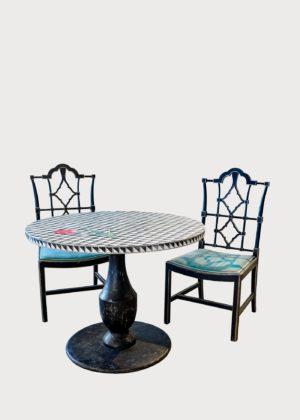 S87 Faenza Chair T82 Con Santo Stefano Table T82 • St • Rn • Xx • 05 (2)