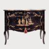 Serenissima Chest Cabinet Black Porte Italia Venezia