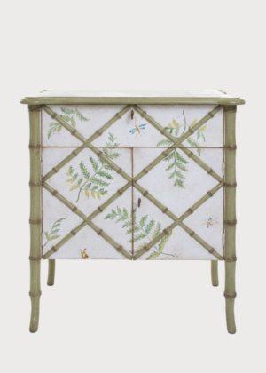 Small Fiesole Chest Cabinet Bamboo Porte Italia Venezia