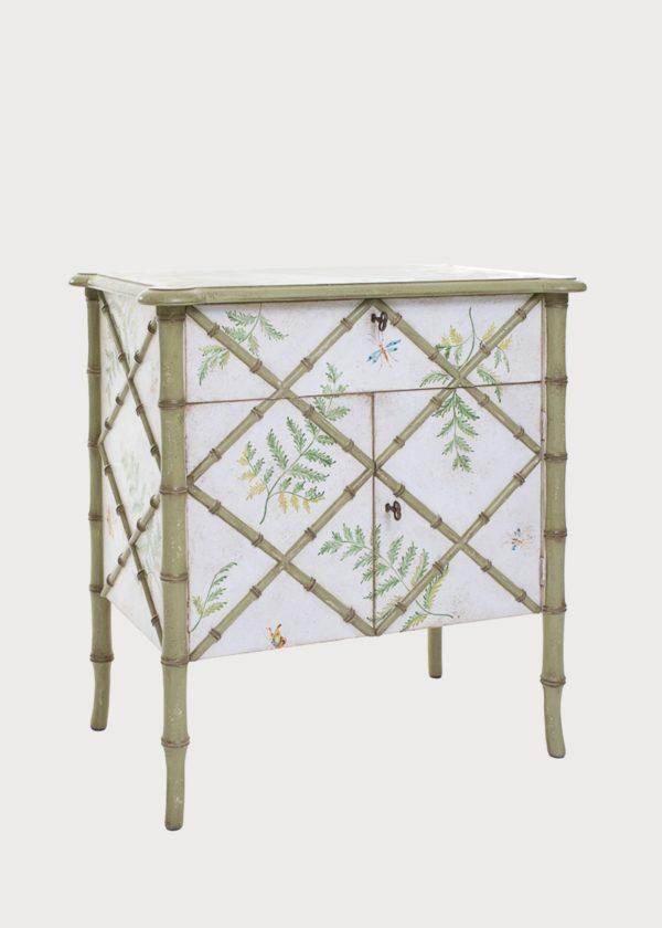 Small Fiesole Chest Cabinet Bamboo Sides Porte Italia Venezia