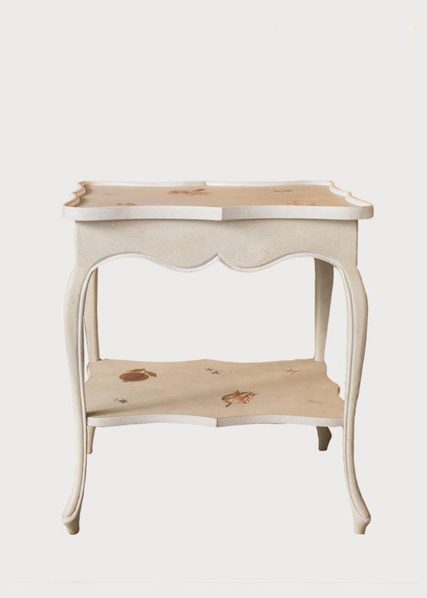 T94 Certosa Table With Shelf San Samuele Old Showroom Porte Italia Venezia (44)