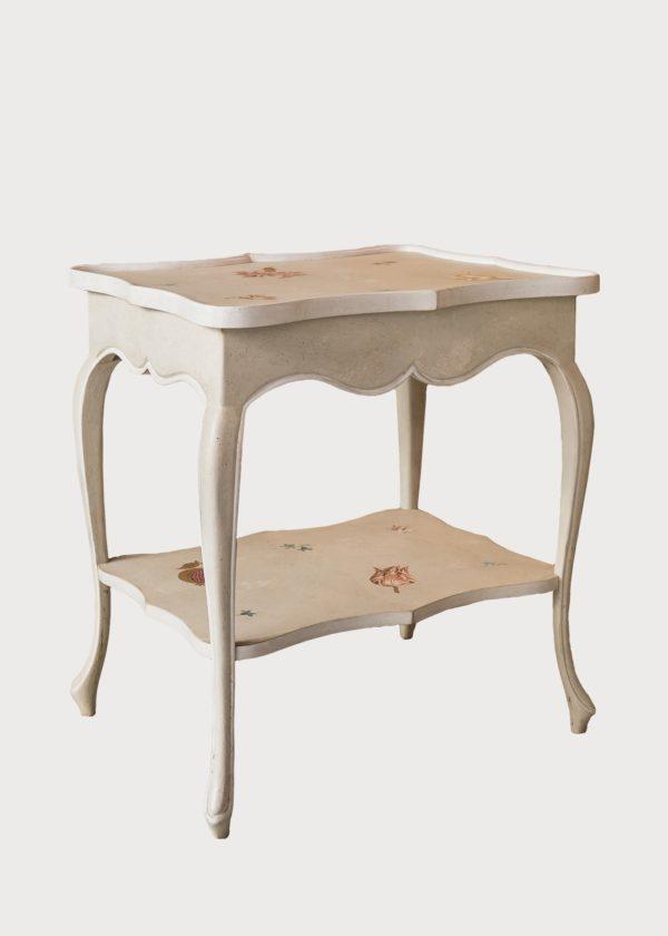 T94 Certosa Table With Shelf San Samuele Old Showroom Porte Italia Venezia (45)