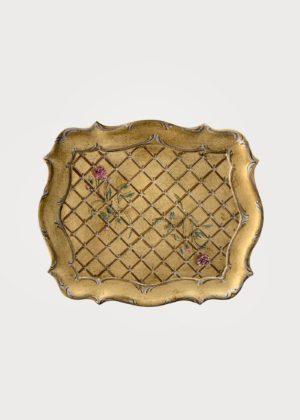 Vassoio Grande Gold Roses2