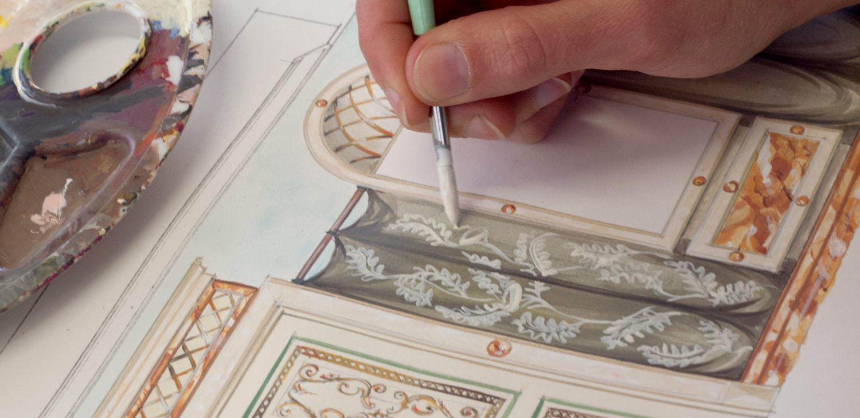 Porte Italia About Artist At Work Draw
