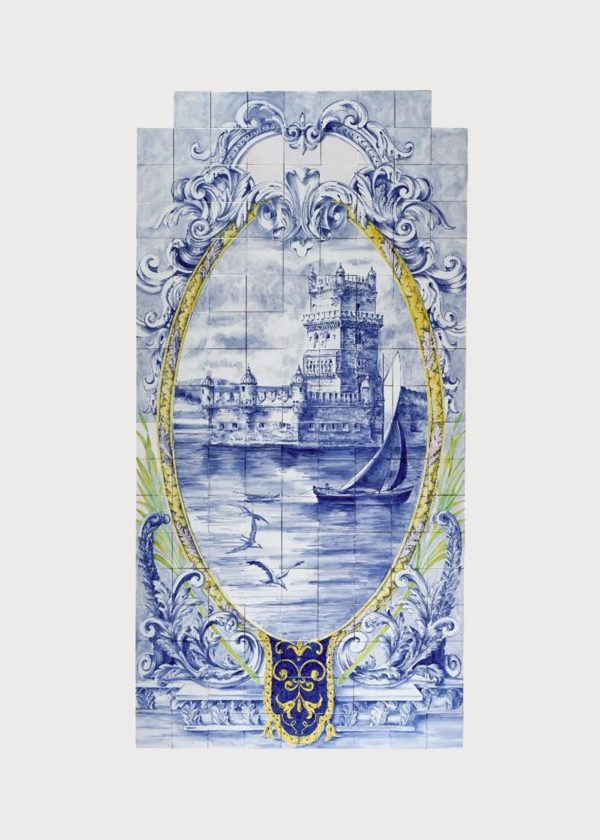 Hand Painted Ceramic Tiles Porte Italia Venezia 15