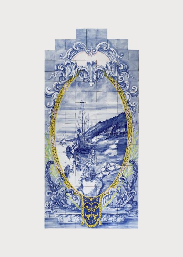 Hand Painted Ceramic Tiles Porte Italia Venezia 21