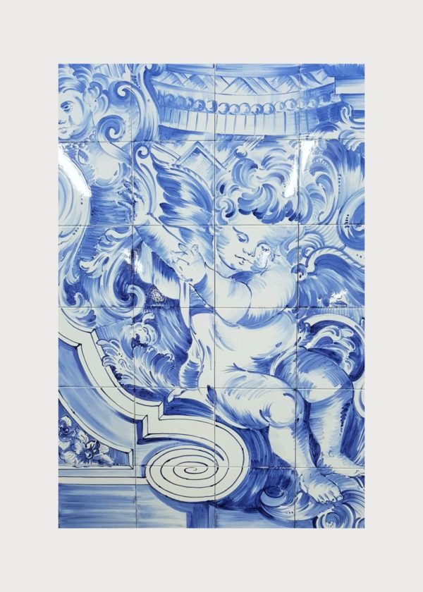 Hand Painted Ceramic Tiles Porte Italia Venezia 24