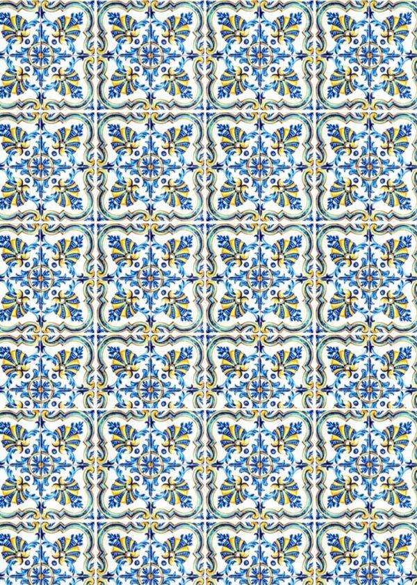 Hand Painted Ceramic Tiles Porte Italia Venezia 32