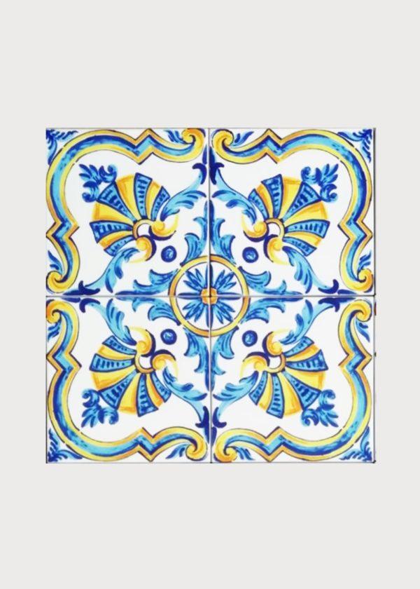 Hand Painted Ceramic Tiles Porte Italia Venezia 33