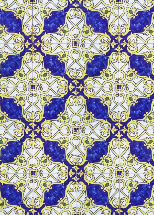 Hand Painted Ceramic Tiles Porte Italia Venezia 38