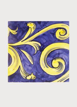 Hand Painted Ceramic Tiles Porte Italia Venezia 41